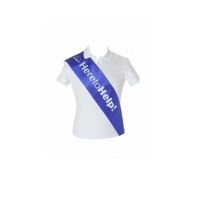 Deluxe Promotional Sash - 144 x 1700mm Long